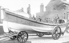 Skegness, The Lifeboat 1896. #thefrancisfrithcollection #francisfrith