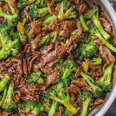 Recipes - NatashasKitchen.com Beef And Broccoli Sauce, Beef Broccoli Stir Fry, Broccoli Recipes, Easy Beef Stir Fry, Beef Stir Fry Sauce, Chinese Beef And Broccoli, Fried Broccoli, Chinese Chicken Recipes, Beef Stroganoff