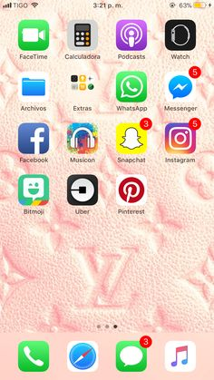 Mafe Iphone Home Screen Layout, Iphone App Layout, Phone Organization, Editing Apps, Whatsapp Messenger, Asda, Facetime, Ios App, Lifehacks