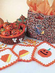 Candy Corn Potholder