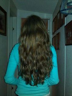 My hair is getting longer! :)