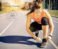 AVANTEK Wireless Activity and Sleep Tracker Smart Fitness Wristband (for iOS 7.0+ and Android 4.3+).