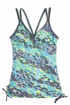 a9ea3224a1e67 Leapin Leopards Adjustable Side Tankini Top. Women's Swim Tops, Top Free ...