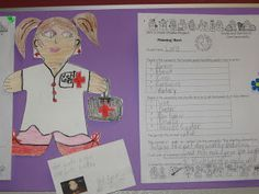Have students create a person who provides a service with a business card describing their service