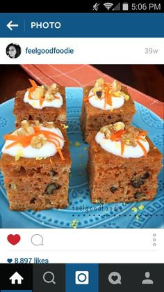 Carrot Cake with Faux Frosting