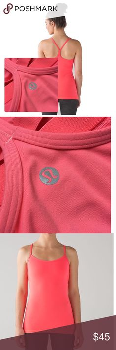 Lululemon Top Lululemon Pink top in Excellent Preowned Condition lululemon athletica Tops