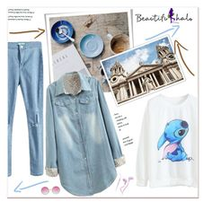 """""""Beautifulhalo"""" by janee-oss ❤ liked on Polyvore featuring Merkury Innovations and bhalo"""