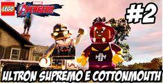 Lego Marvel Vingadores│#2│ ULTRON SUPREMO E  COTTONMOUTH(DUBLADO)HD-1080P