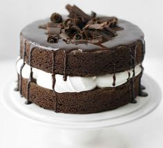 All-In-One Chocolate Cake Recipe