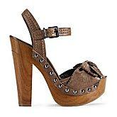 """Jessica Simpson """"Terrii"""" Leather Peep-Toe Bow Sandal"""