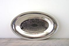 Vintage Silver Plate Bowl by 22BayRoad on Etsy, $11.00