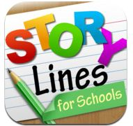 """StoryLines for Schools is an award-winning game of 'telephone' with pictures. Featured by KQED's MindShift in their """"10 Awesome Apps for Learning"""", and by Apple as a """"New & Noteworthy"""" education App.    Learn new vocabulary and language concepts that are grade-appropriate, and spark your creativity in a safe, enjoyable manner."""