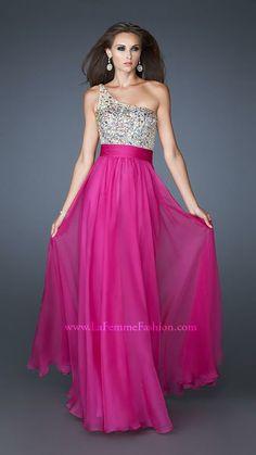 La Femme Prom Dresses 2014 - Call or visit CC's Boutique Tampa for more information http://www.tampabridalshops.com/prom-dresses-2014.html
