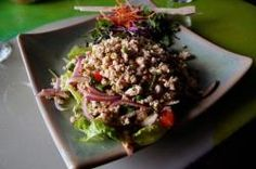 Thai Larb Chicken Salad