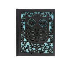 Laser Cut Owl Notebook - Black