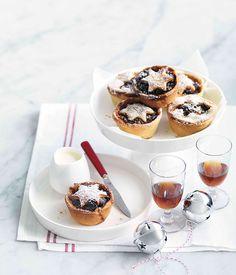 Australian Gourmet Traveller Christmas dessert recipe for fruit mince tarts.