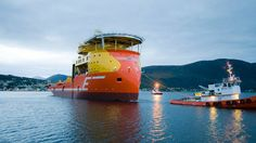 Viking Poseidon, a subsea construction vessel with X-Bow. Source: tu.no