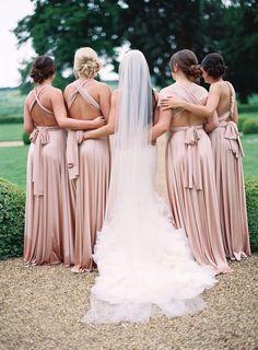 Twobirds Bridesmaid Dresses | Glamorous English Wedding | Depict Photography | Bridal Musings Wedding Blog