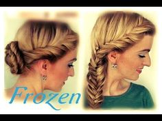 Frozen Elsa Vlecht (3 Kapsels!) Linda Harmsen