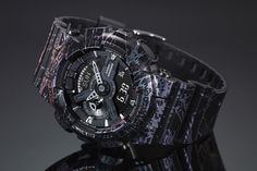 "G-SHOCK - ""Polarized Marble"" DW-5600, GA-110"