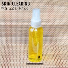 BEAUTY DIY: SKIN CLEARING FACE MIST
