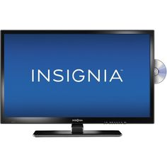 """Insignia™ - 28"""" Class (27-1/2"""" Diag.) - LED - 720p - HDTV DVD Combo - Black - Front Zoom"""