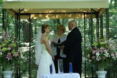 Amanda and Tom were married in the Beethoven Waldheim Club, Hellertown, PA. Their outdoor ceremony was held under the deep shade of a forest canopy on a summer day as a beautiful creek babbled behind us. Banquet Facilities, Photo Memories, Outdoor Ceremony, Summer Days, Canopy, Amanda, Deep, Club, Weddings
