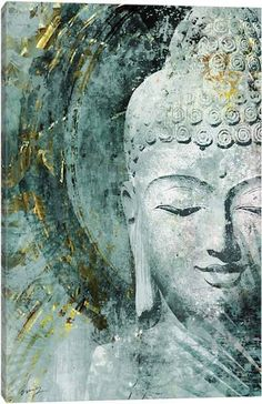 Art by: Eric Yang Title: Buddha Buddha Artwork, Buddha Wall Art, Canvas Artwork, Canvas Art Prints, Buddha Canvas, Buddha Zen, Buda Painting, Large Painting, Abstract Paintings