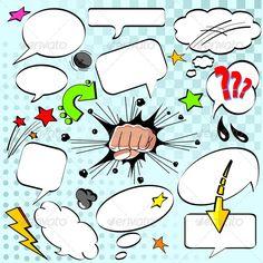 Speech bubbles  #GraphicRiver         Comics style speech bubbles     Created: 28June12 GraphicsFilesIncluded: PhotoshopPSD #TransparentPNG #LayeredPNG #JPGImage #VectorEPS Layered: No MinimumAdobeCSVersion: CS Tags: announcement #art #attention #balloon #boom #box #bubble #cartoon #chat #cloud #collection #comic #design #dialog #element #graphic #illustration #message #noise #set #shapes #sign #speak #speech #splash #tag #talk #vector