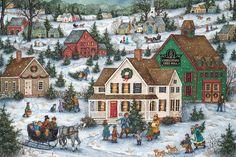 Bonnie White - Folk Art Paintings :: american-artists.com