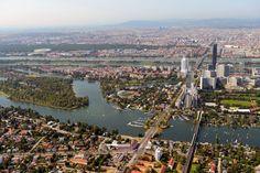 alte Donau Wien | Luftaufnahmen - SkyscraperCity