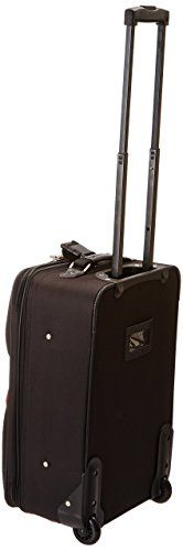 Amazon.com | Travelers Choice Travel Select Amsterdam Two Piece Carry-on Luggage Set, Burgundy | Luggage