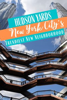 Hudson Yards is New York City's newest and  trendiest neighborhood- come see what Hudson Yards has to offer during your next trip to NYC!  #hudsonyards #nyc #newyorkcity #thebigapple #visitnyc #travel #familytravel #travelgram  #instatravel New York Travel Guide, Usa Travel Guide, New York City Travel, Travel Usa, Travel Guides, Travel Tips, Places To Travel, Travel Destinations, Travel General