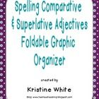 This foldable graphic organizer helps students learn the spelling rules comparative and superlative adjectives.  It has options for differentiation...