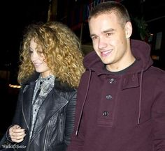 Liam & Danielle last night! Her with her curly hair brings back memories :)