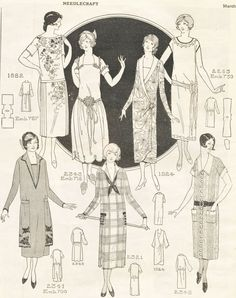 Spring Fashions from 1925