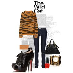 """The Wild Cat"" by stylefinds on Polyvore"