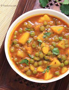 Mix punjabi style dal fry in gujarati lanuage food recipe aloo matar curry forumfinder Choice Image