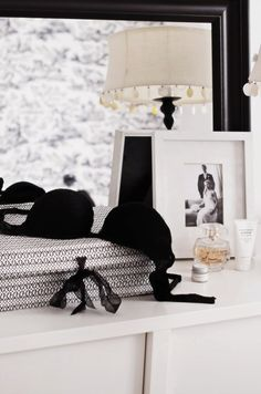black bra dresser intimate