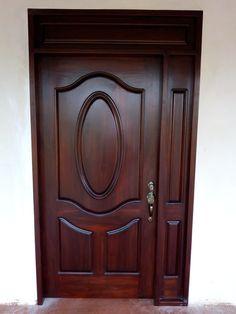 Main Entrance Door Design, Wooden Front Door Design, Double Door Design, Wooden Front Doors, Exterior Doors For Sale, Wood Exterior Door, Home Door Design, Door Design Interior, Single Main Door Designs