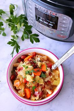Pot Weight Loss Vegetable Soup Instant Pot Weight Loss Vegetable Soup Recipe - hearty and filling vegetable soup made in electric pressure cooker. Helps to detox and loose weight.Instant Pot Weight Loss Vegetable Soup Recipe - hearty and filling vegetable Weight Loss Vegetable Soup Recipe, Detox Vegetable Soup, Vegetable Soup Recipes, Detox Soup, Vegetable Ideas, Veggie Soup, Diet Soup Recipes, Healthy Dinner Recipes, Vegan Recipes