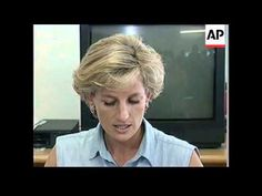 ANGOLA: LUANDA: BRITAIN'S DIANA PRINCESS OF WALES VISIT UPDATE. EXTREMELY RARE INTERVIEW.