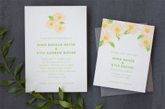 If I ever did get married, I love these invites