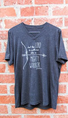 100% of the profits from this shirt goes to supporting my mission trip to South Africa and Namibia!!  Men's Soft VNeck Tee  Bow & Arrow by kailaMstark on Etsy, $20.00 www.etsy.com/shop/kailaMstark