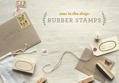 """A Cute Website For Paper Goods. In Their Own Words: """"Stylishly Quirky Paper Goods""""."""