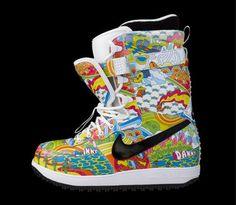 Danny Kass exclusive 2009 Nike Zoom Force 1 DK-YS