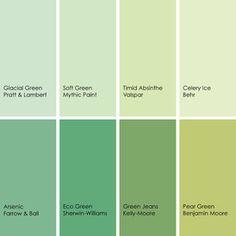 celery green paint color | paint color schemes- celery green