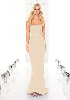 Possible Bridesmaid dress in champagne....