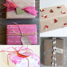 51 Creative #DIY Gift Wrap Ideas For Any Occasion: http://bit.ly/1oNG17c