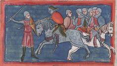 Manuscript WLB HB XIII 6 Weltchronik & Marienleben Folio 205r Dating 1300-1350 From Lower, Österreich